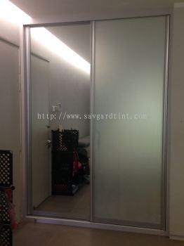2) Mirrored Door (Before & After)