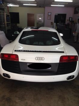 2) Audi R8 Car Tinted - AWSF Performer 5