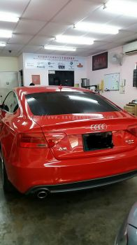 4) Audi A5 Car Tinted - ASWF Charcoal 15