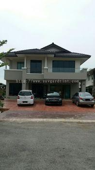 1) Bungalow House