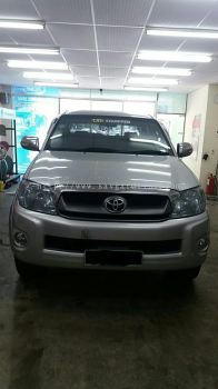 1) Hilux Kerata Tinted Black Gold