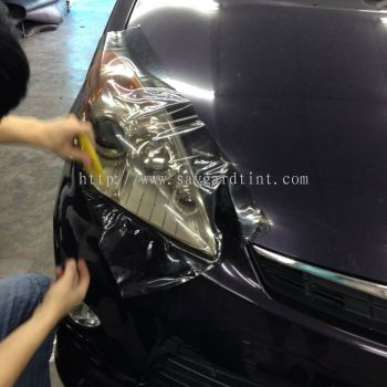 Myvi - Car HeadLamp Tint