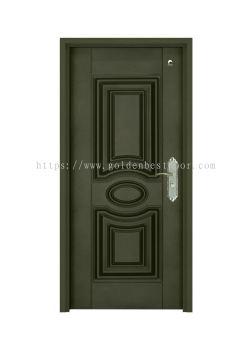 Security Wood Door