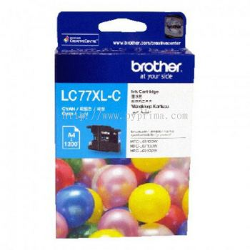 Brother LC-77XL Cyan Ink