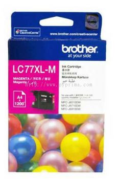 Brother LC-77XL Magenta Ink