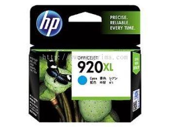 HP 920XL - CD972 XL Cyan Ink