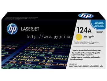 HP 124A - Q6002A Yellow Toner