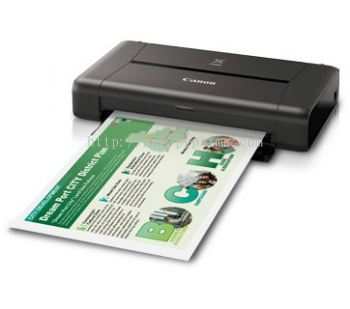 Canon Pixma iP110 - Colour (Print Only/Wifi)