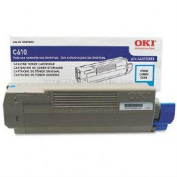 OKI C610 Cyan Toner (44315311)