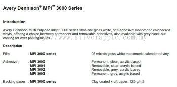 Avery MPI 3000