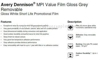 Avery MPI Value Film