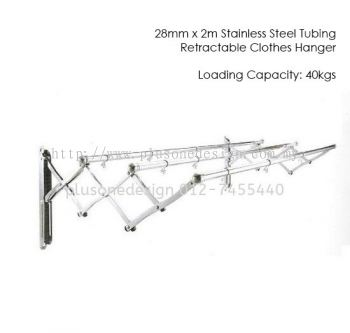 2 Meter Aimer Stainless Steel Clothes Rack