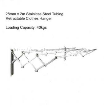2 Meter Stainless Steel Clothes Hanger