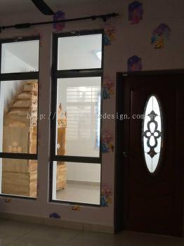 Entrance Door and Window
