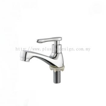 Full Brass Satin Finish Pillar Basin Tap BM828SS