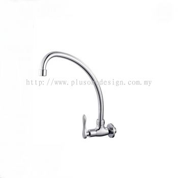 Full Brass Wall Kitchen Tap BM808
