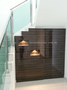 Staircase Storage Partition