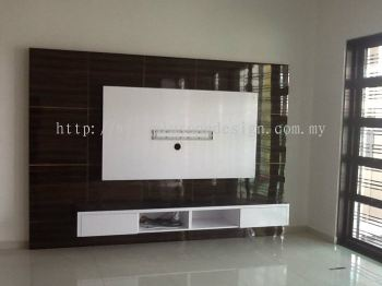 Living TV Feature and Console