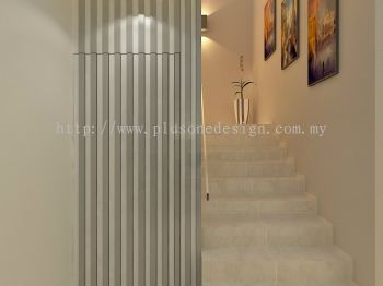 Staircase Storage Design