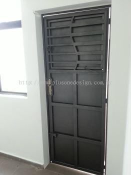 Back Yard Metal Door