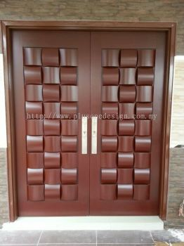 Entrance Double Swing Door