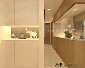 3D View - Shoe Cabinet