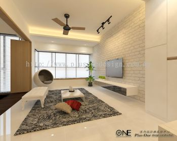 3D View - Living Area