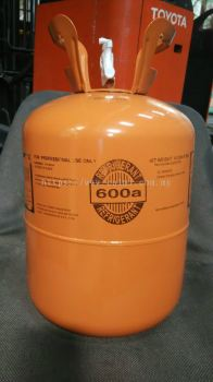R600a Refrigerant Gas (6.5kg) Disposable Cyld (Aurora)