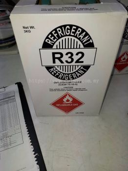 R32 Refrigerant Gas (3kg) Disposable Cyld Type