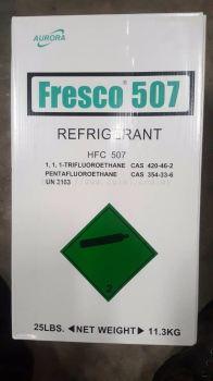 R507 X 25LBS (11.3KGS) HFC FRESCO 507 REFRIGERANT GAS