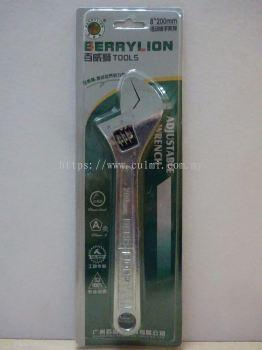 "BERRYLION 8"" (200MM) ADJUSTABLE SPANNER (6 PCS/BOX)"