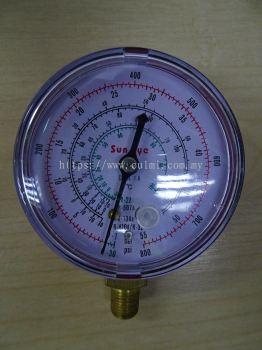 SUN EYE (H) 800PSI PRESSURE GAUGE (R22/507A/404A/410A)