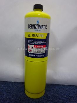 BERNZOMATIC MAP//Pro Premium Torch Fuel (14.1oz/400g) (Made In USA)