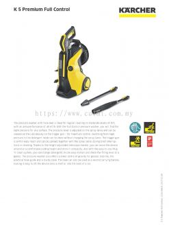 KARCHER K 5 Premium Full Control Pressure Washer