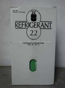 R22 X 30LBS (13.6KG) HCFC REFRIGERANT GAS (NEUTRAL PACKING) (CHINA)