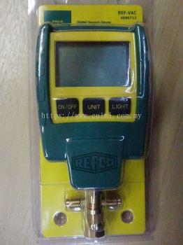 REFCO REF-VAC DIGITAL VACUUM GAUGE (0 TO 18000 MICRON) (P/N : 4686712)