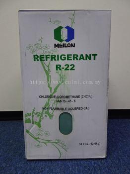 R22 X 30LBS (13.6KG) MEILAN HCFC REFRIGERANT GAS (CHINA)