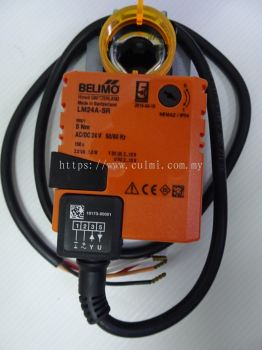 BELIMO LM24A-SR NON-SPRING-RETURN MODULATING DAMPER ACTUATOR 5NM, AC/DC 24V, 50/60HZ