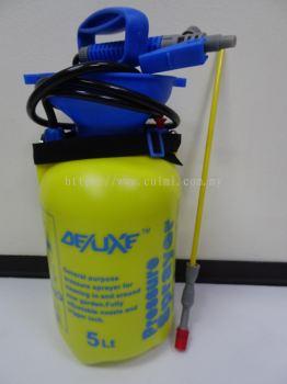 DELUXF 5.0 LITRE PLASTIC PRESSURE SPRAYER