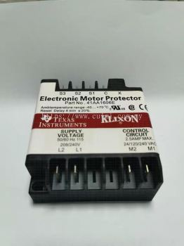 TEXAS INSTRUMENTS ELECTRONIC MOTOR PROTECTOR P/N : 41AA1606E (REPLACED : KRIWAN INT369R)