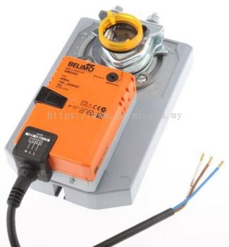 BELIMO GM230A OPEN-CLOSE NON-SPRING-RETURN DAMPER ACTUATOR 40NM, 100-240VAC, 50/60HZ