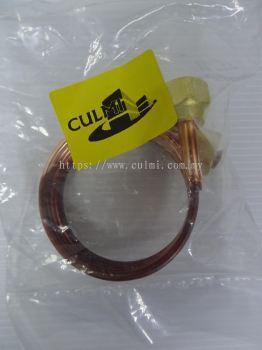 """CULMI IC-900M (90CM) CAPILLARY TUBE 1/8"""" WITH NUT 1/4"""" X 2PCS"""