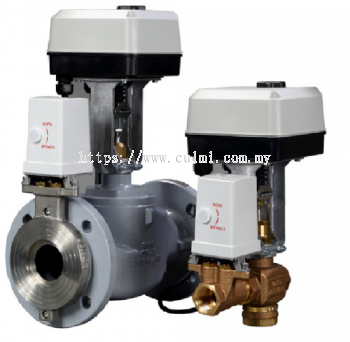 HONEYWELL KOMBI-9 SERIES PRESSURE INDEPENDENT INTEGRATED BALANCING CONTROL VALVE