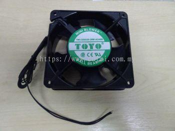 """TOYO COOLING FAN TM-120S1B-18W-A240D 4"""" 240V BEARING FAN"""