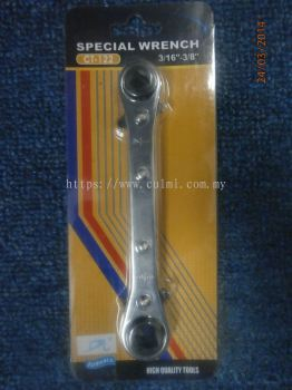 """DONGLI CT-122 Ratcher Wrench (1/4"""",3/8"""",3/16"""" & 5/16""""[Square])"""