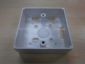 """PVC 3"""" X 3"""" WHITE BOX"""