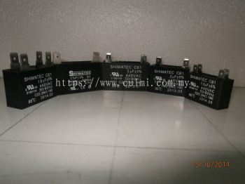 Shimatec Fan Motor Capacitors (1.0 ~ 6.0 UF)
