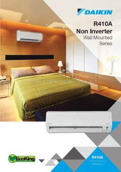 Daikin R410A Non-Inverter Wall Mounted Series Air-Conditioner (GA Range)