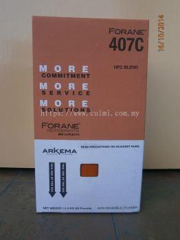 Forane 407C Refrigerant Gas (11.3kg)