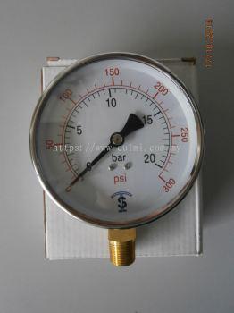 """TS (4""""X3/8"""") WATER PRESSURE GAUGE"""